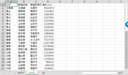 エクセルVBAからAccessテーブルに追加するデータ