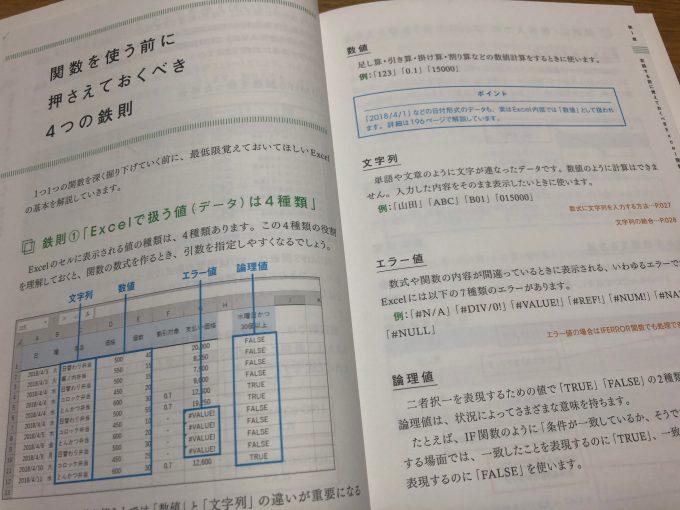 関数は「使える順」に極めよう! Excel 最高の学び方p24,25 データの種類について