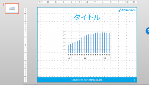 エクセルVBAでグラフをPowerPointに貼り付けた