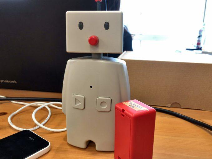 コミュニケーションロボットBOCCO