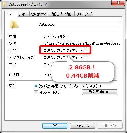 Evernoteのデータ容量