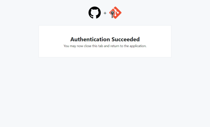 Authentication Succeeded