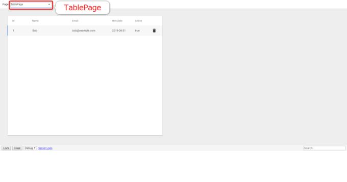 App Makerのフォームで入力した内容をテーブルで確認