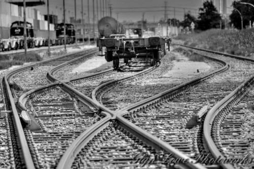 線路が合流