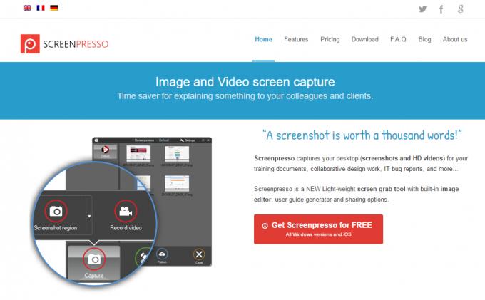 Screenpresso公式サイト