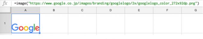 GoogleロゴIMAGE表示