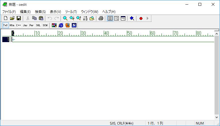 oedit-起動-ウィンドウ