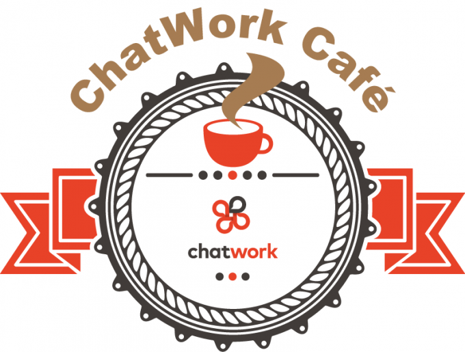 ChatWorkCafeロゴ