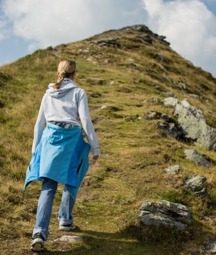 山頂への道のり