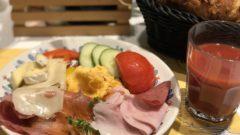 ホテルダニエルの朝食