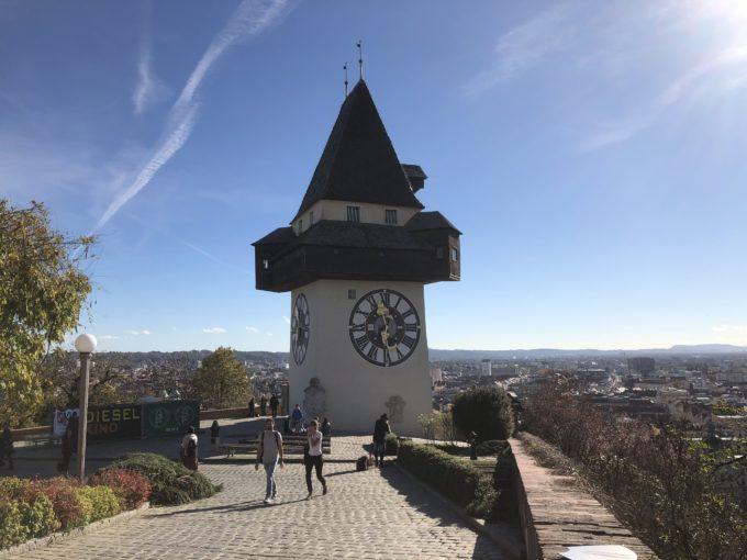 シュロスベルク時計台