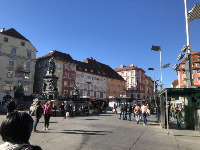 グラーツ中央広場