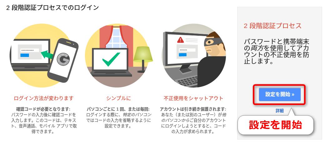 2段階認証プロセスでのログイン
