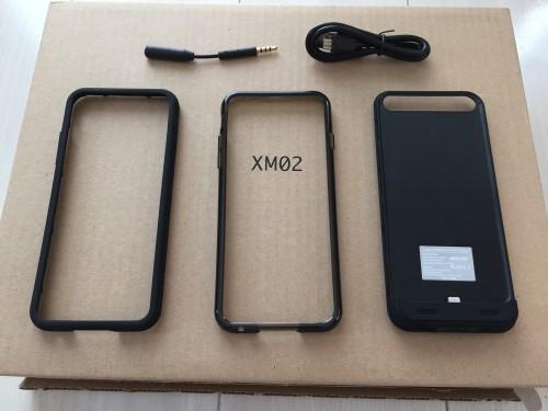 iPhone6用バッテリーケースBESTEK付属