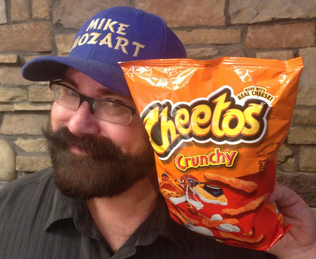 crunchyなお菓子とおじさん