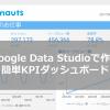 圧倒的に見やすいダッシュボードを作成できる「Google Data Studio」が熱すぎる