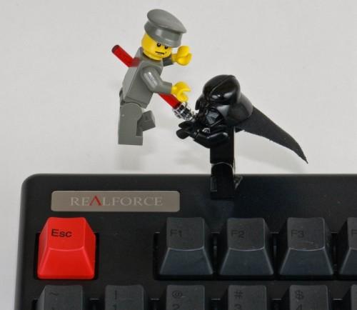 キーボード争奪戦
