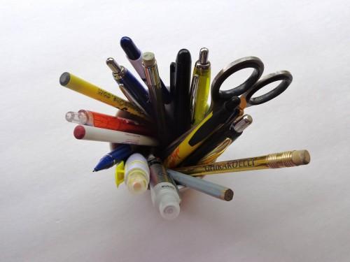 ペン立てとペン