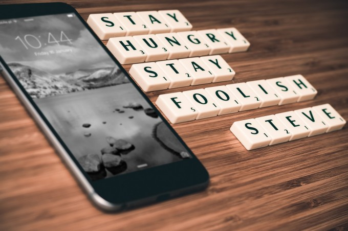 iphone6 - stay hungry stay foolish steve