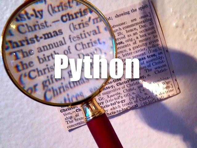 python-keyword