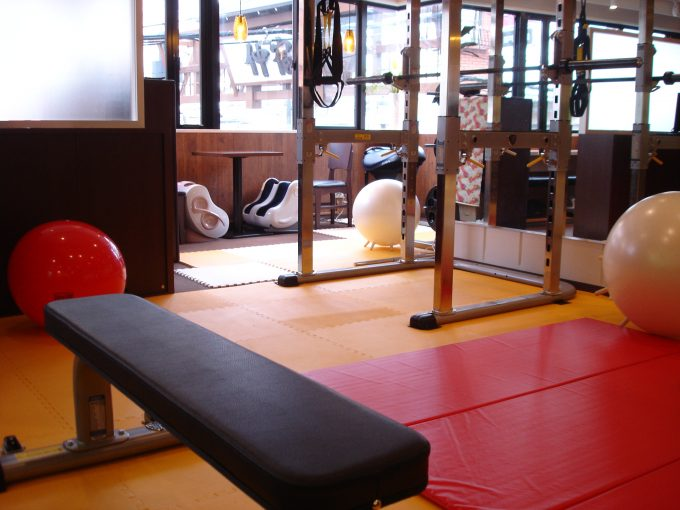 運動できる健康食堂さんぽプラス店内