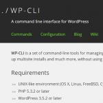 WordPressをコマンドラインで操作するWP-CLIをインストールする方法